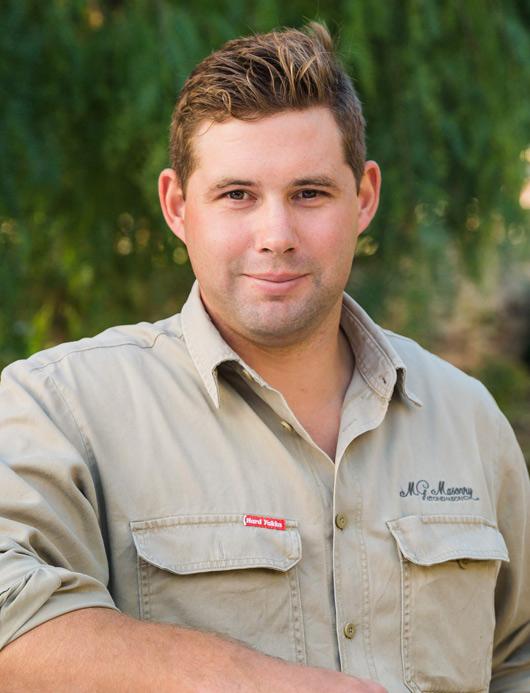 Matt Gross - stonemason in Adelaide
