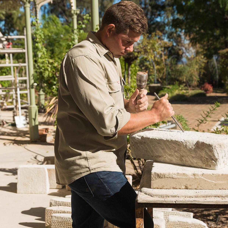 Stone mason Adelaide Hills