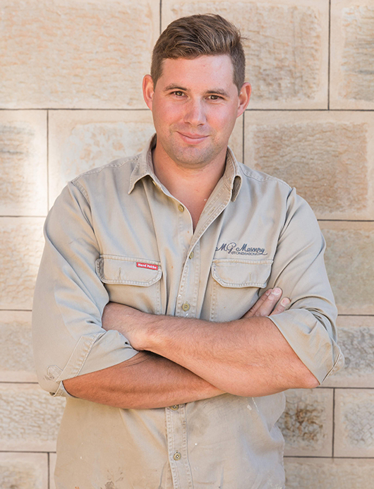 Matt Gross - stonemason in Adelaide