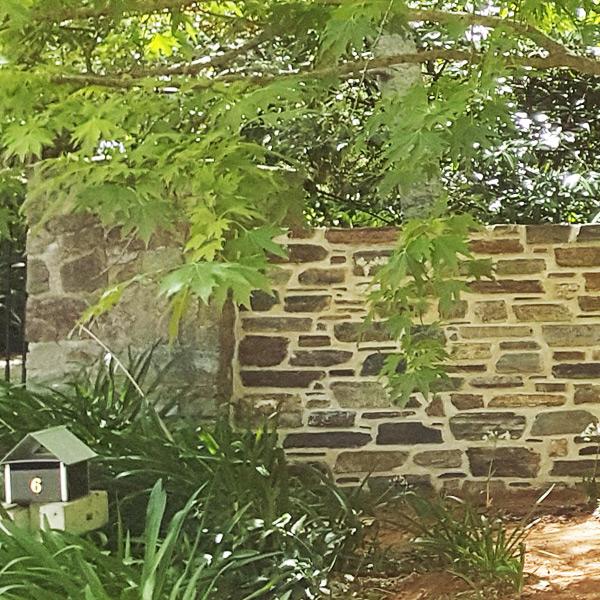 Stone garden walls adelaide